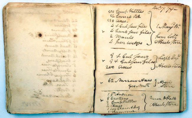 Joseph Plumb Martin penned a detailed diary of his service in the Continental Army during the Revolutionary War.