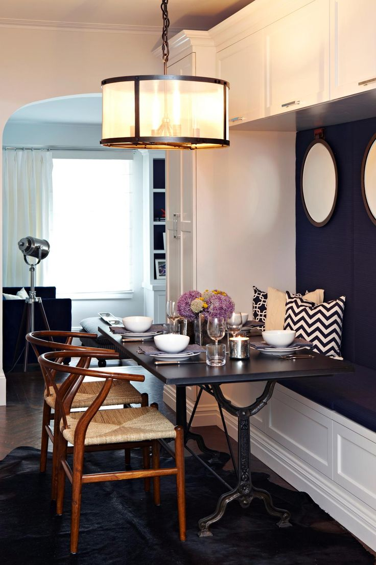 "This room is in the running for ""Best Small Space"" on HGTV.com.  Vote if you love it or view more design challengers here--> http://hg.tv/215ik"