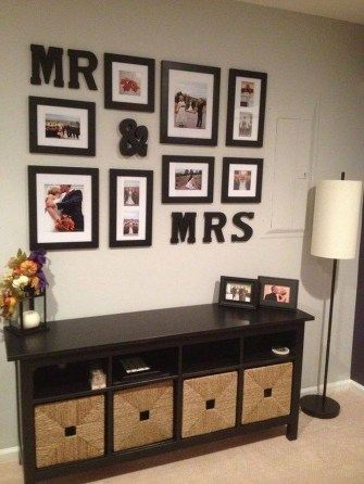 Cute And Wedding Photo Display Ideas You Should Try At Home