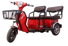 500W LED Electric scooter/ electric bike/tricycle rickshaw