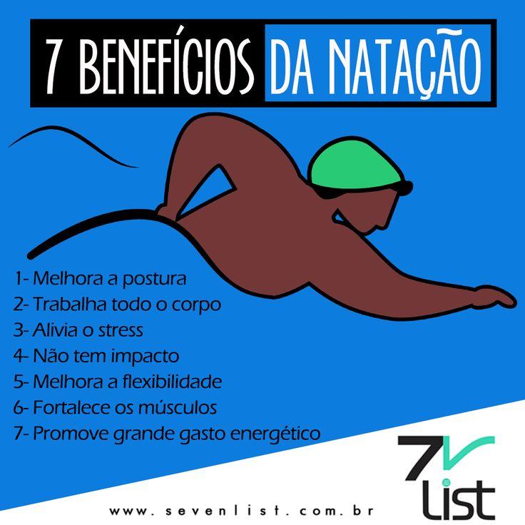 #Sevenlist #Art #Design #dicas #Benefícios #Esportes #Nadar #Natação #Fitness #Exercícios #Malhação #Emagrecer