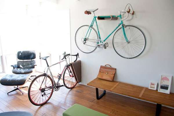 17 Space-Saving Bike Racks - A Simple Bike Rack Makes Storing Your Two-Wheeled Chariot a Cinch (TOPLIST)