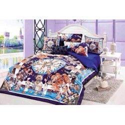 Hermes Paris Bettwäsche günstig billig gut preiswert King Size Seide Baumwolle Bed Set 6 Teilig
