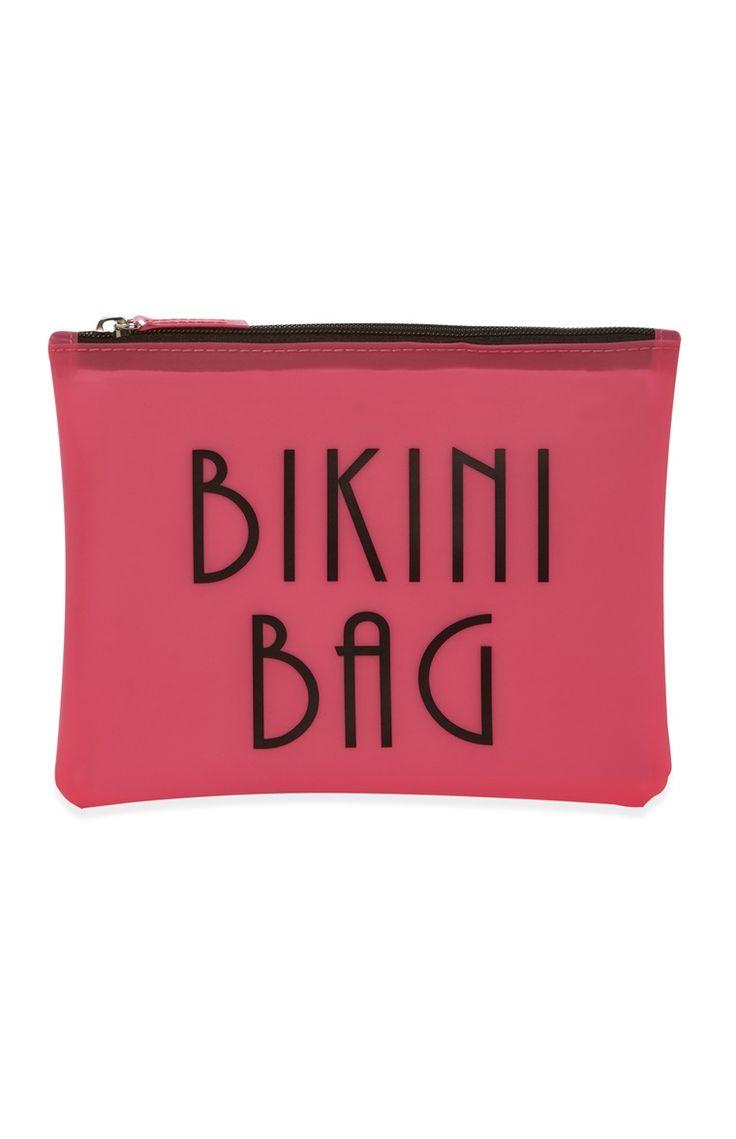 Primark - Roze bikinitas