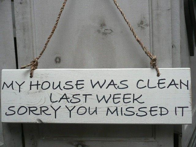 "Tekstbord ""my house ...."