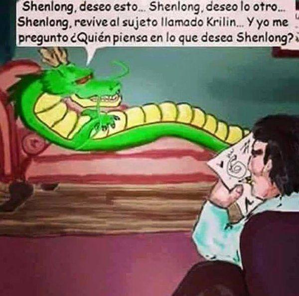 Pobre Shen Long .   19 Imágenes que matarán de risa a los amantes de Dragon Ball
