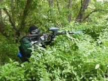 Paintball - Clubventure. The Forest Paintball Arena is rugged terrain. Enjoy true war-combat style in the bush and the valley. Natural forest provides some protection from your enemies. Playing on half a hectare of playing field, advancing cautiously, you use the forest for camouflage.