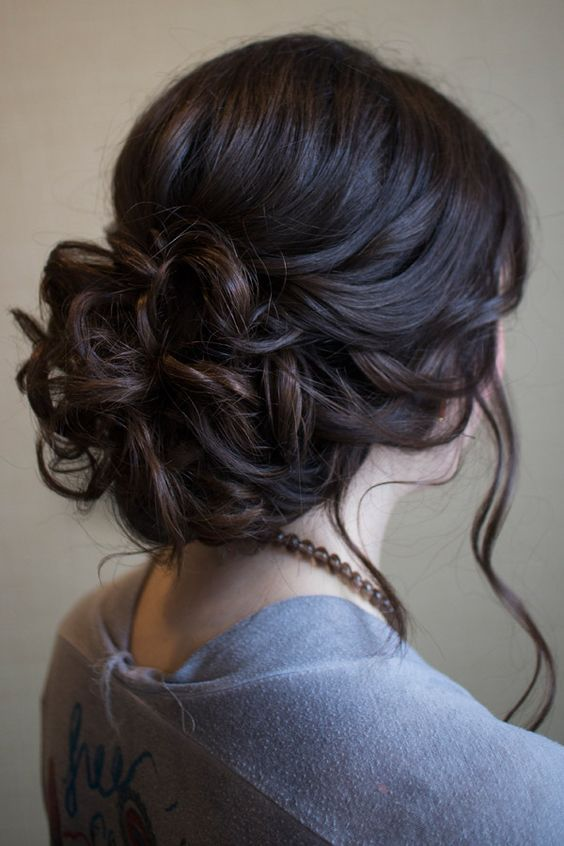 Cly And Simple Hairstyle Ideas For Thick Hair