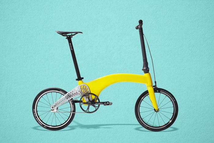 the lightest foldable bike in the world is created by a Romanian designer