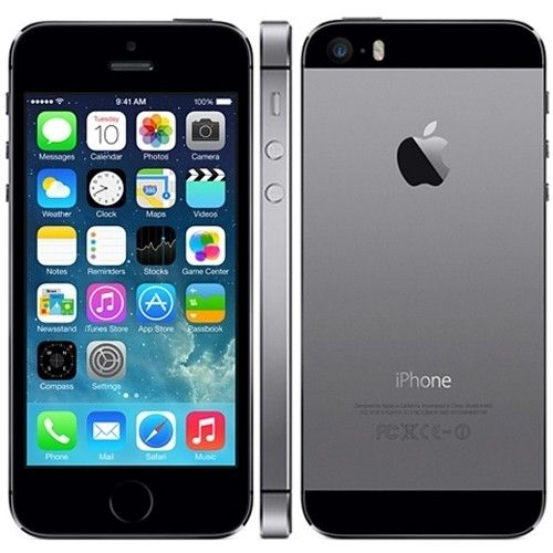 Apple iPhone 5S 32GB - Space Grey SimFree/Unlocked with Apple Warranty