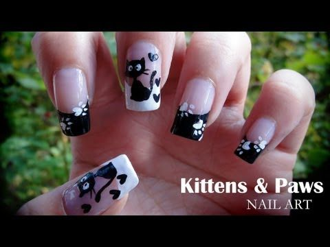 101 best youtube nails images on pinterest nail scissors kittens paws nail art youtube prinsesfo Image collections