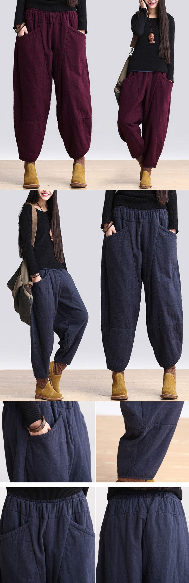 Cotton spring and winter pants.do you like this style? welcome to buykud.com