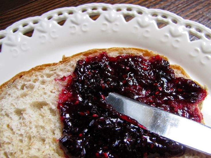 Bumbleberry Jam. A delicious jumble of blackberries, blueberries and raspberries.