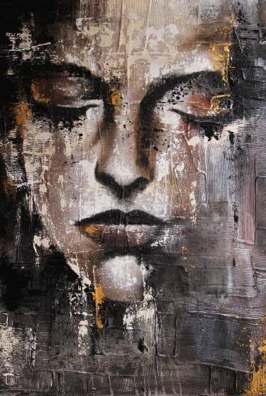"Saatchi Art Artist Donatella Marraoni; Painting, ""Gold"" #art"