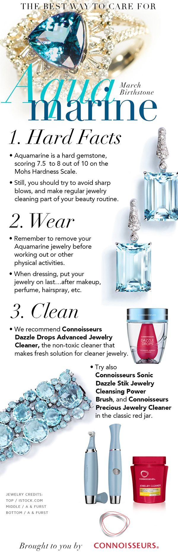 Best way to clean an aquamarine, a complete step-by-step guide to cleaning aquamarine jewelry.