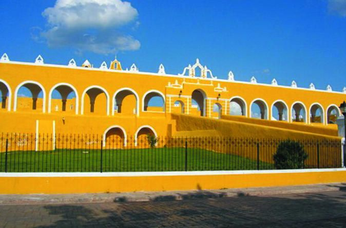 Izamal Full-Day City Tour from Merida Visit Izamal, the city of the hills, located just in the center of the Yucatan Peninsula. See this ancient colonial city and find some pyramids such as Kinich Kakmo and other structures such as Rabit, Kabul and Itzamatul.Your full-day tour begins with hotel pickup in Merida at around 9am. From there, you'll drive towards Izamal to get a thorough tour of the city. This colonial city is known as the city of hills and it's located right in th...