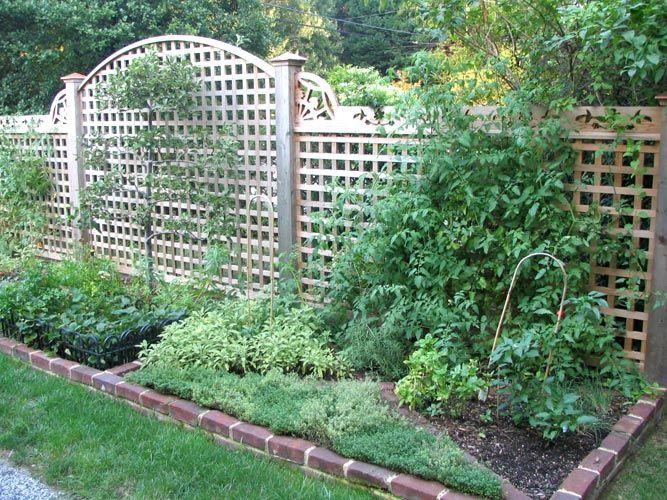 Fancy Backyard Fences : 1000+ images about Fancy fences on Pinterest  Fence, Herb Garden