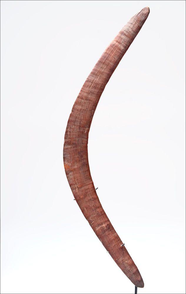 Australian Aboriginal BOOMERANG - coastal Queensland #Boomerangs