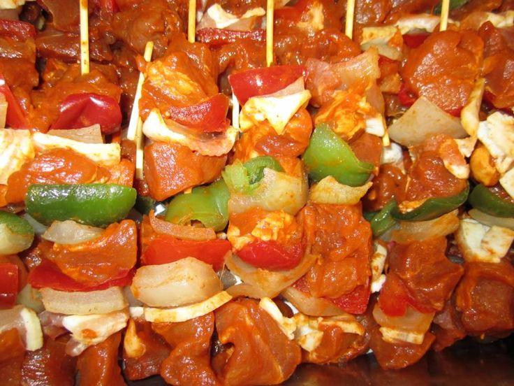 Mixed Traditionele Shaslick Sticks Van De BBQ recept | Smulweb.nl