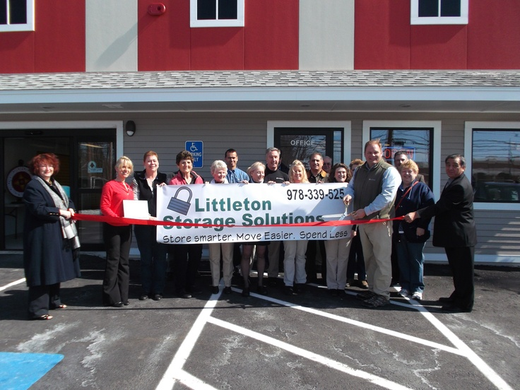 Ribbon Cutting At Littleton Storage Solutions 509 Great Road Ma March 22
