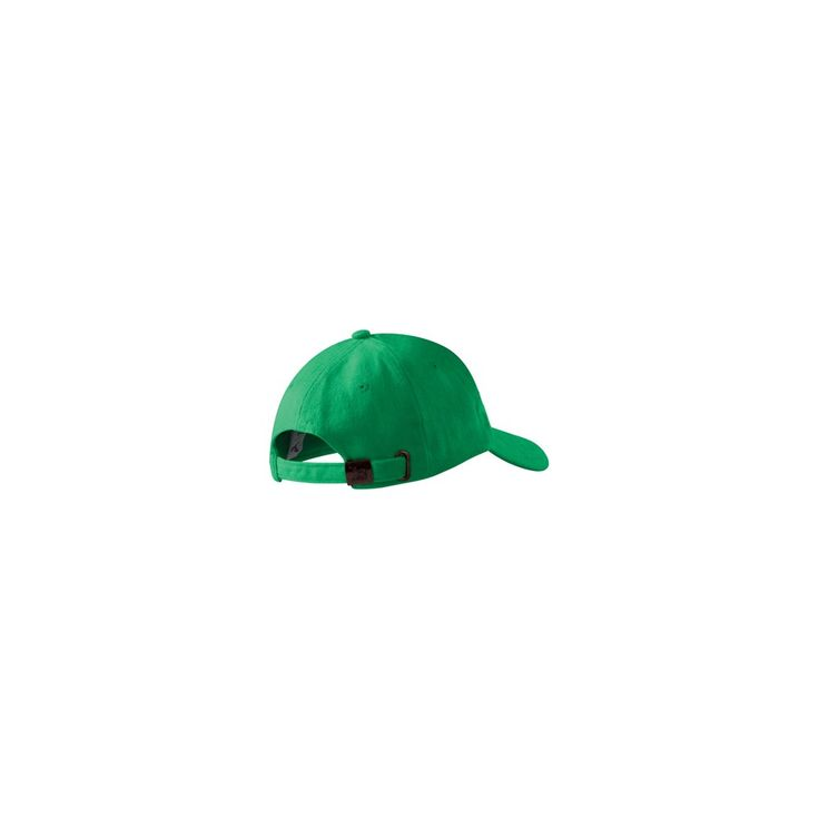 Heavy brushed cotton cap with embroidered air-holes and peak. Adjustable size by brass buckle.