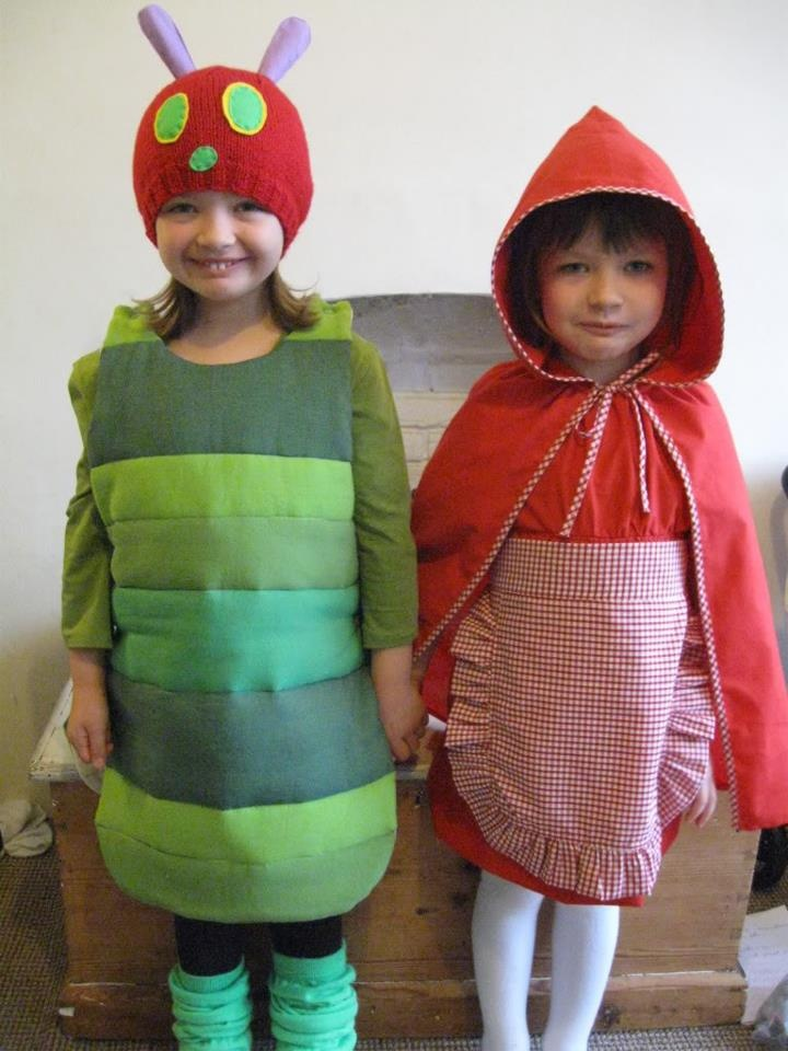 The Very Hungry Caterpillar and her best friend, Little Red Riding Hood!