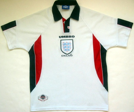 England's kit from '97-'99