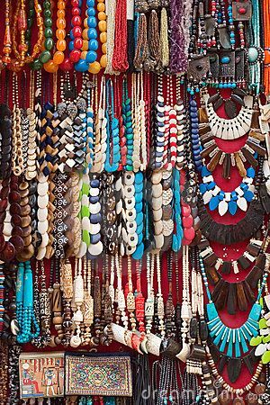 African+Ethnic+Jewelry | African Swahili Ethnic Necklace - Contemporary Tribal Jewelry