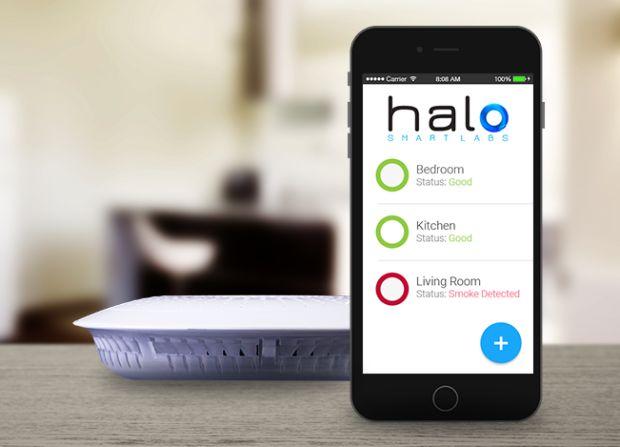 Le détecteur de fumée intelligent Halo