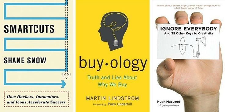 A great collection of business books on psychology, neuromarketing, writing, advertising, and more.