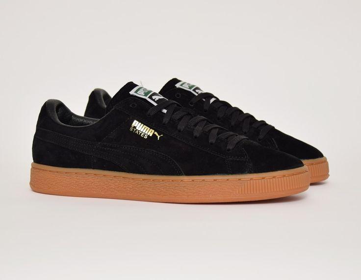 #Puma States Winter Gum Black #sneakers