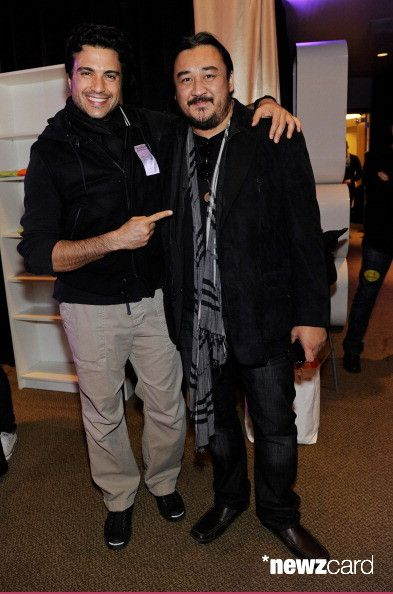 Actor/singer Jaime Camil (L) attends the 13th annual Latin GRAMMY Awards Gift Lounge held at the Mandalay Bay Events Center on November 14, 2012 in Las Vegas, Nevada.  (Photo by David Becker/WireImage)