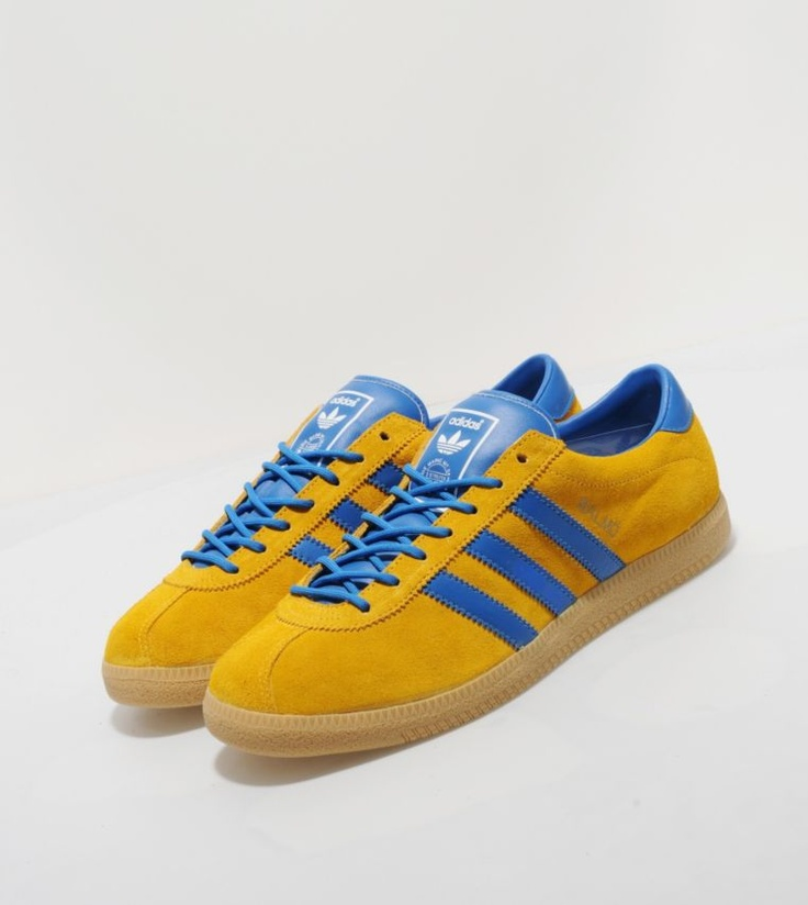 Adidas Originals Malmo - size? Exclusive - £65.00  The first of the City Series collection comes in a premium suede upper with leather three stripe branding, and the original Malmo sole unit. They also feature a leather tongue and heel piece, and rounded laces.