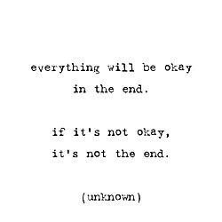 it will be ok