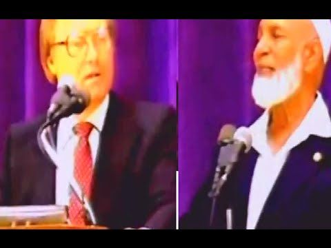 Sheikh Ahmed Deedat, sheikh Sheikh Ahmed Deedat debate And Christianity, Ahmed Hussein Deedat was born in Surat, India, in 1918. He could not live with his f...