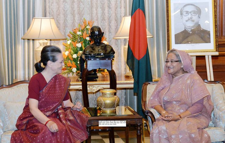 Sonia Gandhi the President of Indian National Congress today ensure Prime Minister Sheikh Hasina of taking a general stand of all political parties of India regarding next-door neighbour Bangladesh.