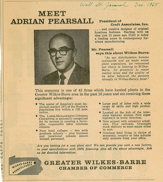 adrian pearsall chair - Google Search