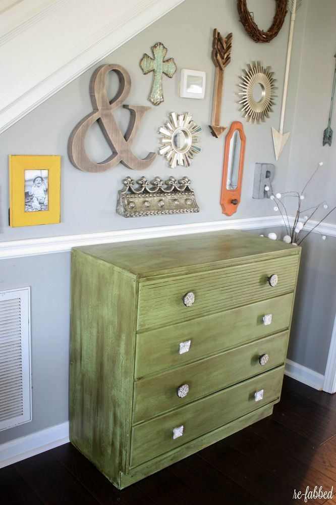 Ugly Yellow Chest Gets Beautiful Makeover