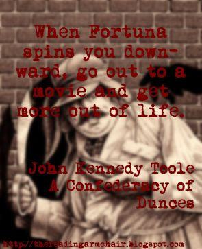 Book Quote for the novel A Confederacy of Dunces by John Kennedy Toole