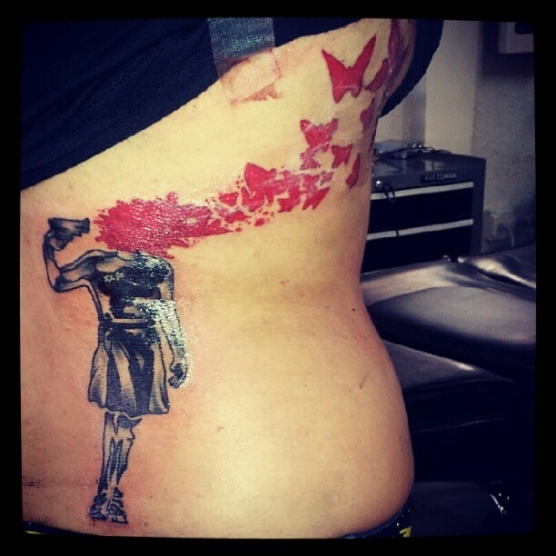 Instagram Martha Mazariegos Tattoo -- this is a little morbid, but it's so unbelievably powerful