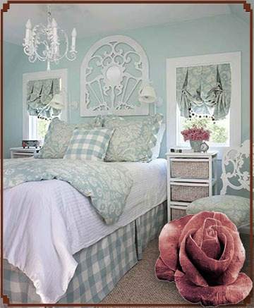 Frame over bed instead of headboard shabby bedroom - What to use instead of a headboard ...