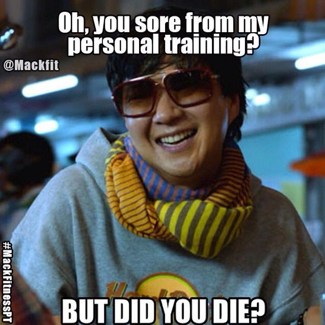 Image result for personal trainer meme