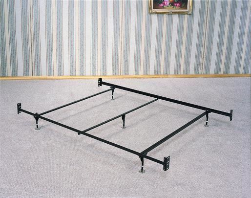 queen size 5 legs u0026 glides bed framerail for headboard u0026 footboard