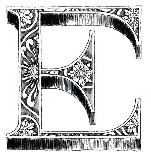 1000+ images about Decorative Letters on Pinterest | The ...
