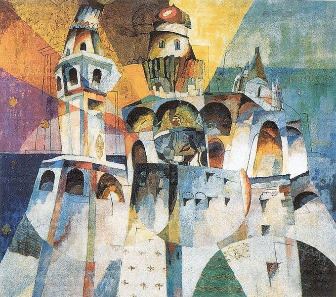 Bells. Ivan the Great Bell - Aristarkh Lentulov