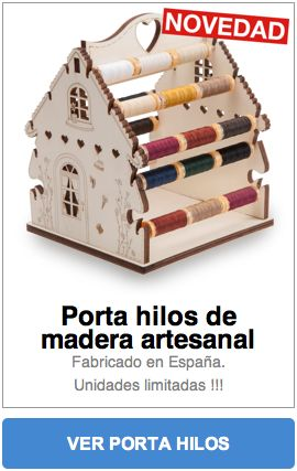 Patchwork en Casa - Patchwork with Love: Nuevo producto: Porta hilos de madera