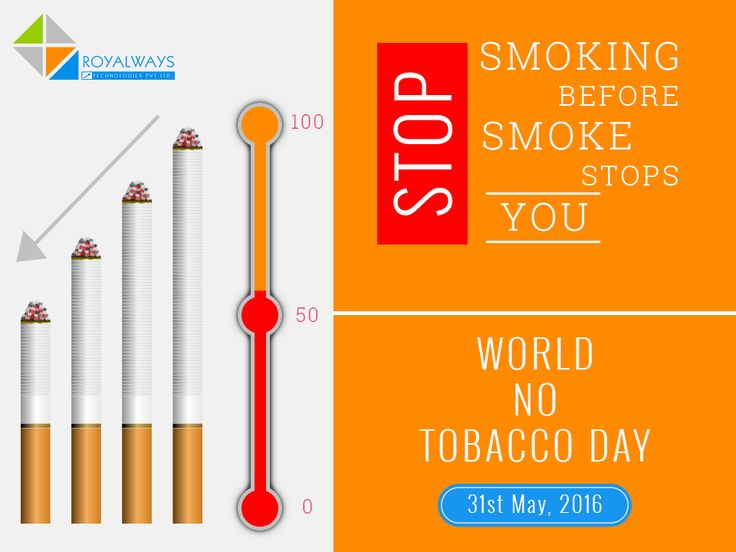 #NoTobaccoDay! Say no to tobacco and yes to life.