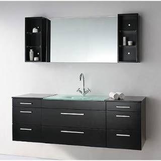 Bathroom Vanities Black best 25+ black bathroom vanities ideas on pinterest | black