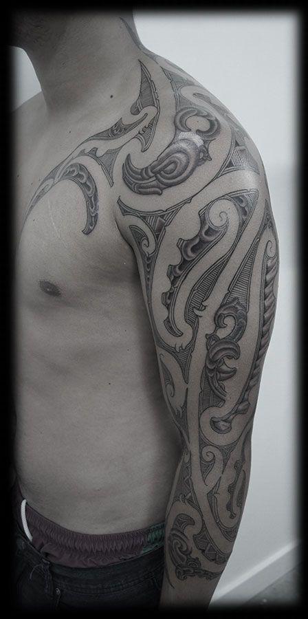 Maori, Ta Moko and Kirituhi Tattoos | Otautahi Tattoo