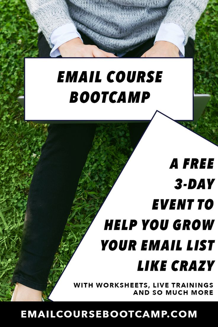 If you want a completely FREE 3-day training on growing your #email list through creating high-value email courses, join EmailCourseBootcamp.com from byRegina!